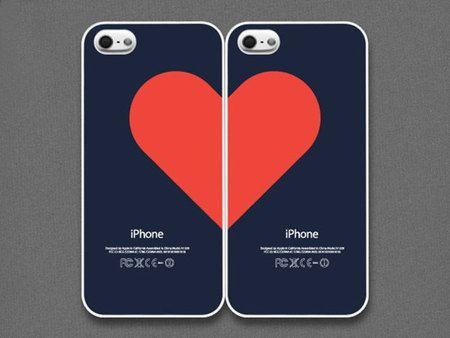 Ada juga tema casing couple berbentuk hati yang baru terlihat jadi hati jika digabungkan.