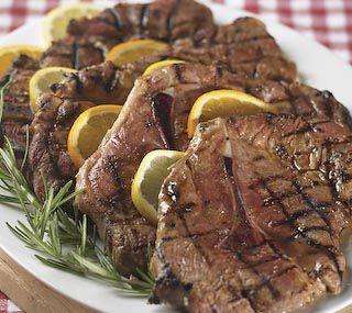 Thrifty Foods - Recipe - Grilled Marinated Pork Shoulder Blade Steaks