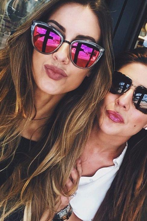 oakley girl sunglasses cheap  the quay eyeware my girl sunglasses in coffee, as seen on katherine webb