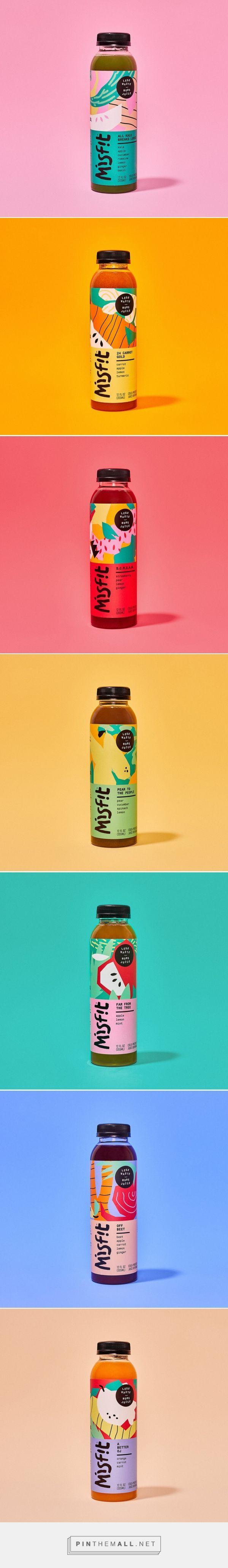Misfit Juicery Packaging by Gander | Fivestar Branding Agency – Design and Branding Agency