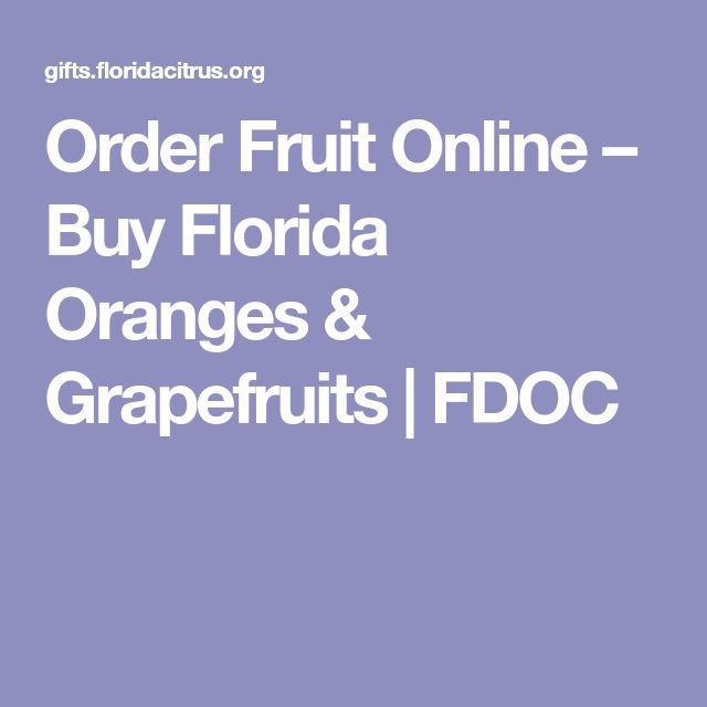 Order Fruit Online – Buy Florida Oranges & Grapefruits   FDOC