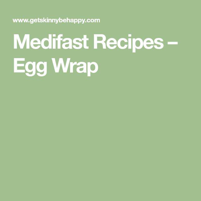 Medifast Recipes – Egg Wrap