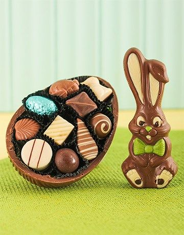 46 best easter eggs and gift hampers images on pinterest easter easter egg chocolate bunny negle Image collections