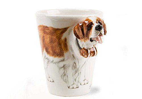 Though their temperament is mild and loyal the St. Bernard, featured on this original Blue Witch mug, is often used as a guard dog due to its imposing stature. The St. Bernard's loyalty and tolerant character have also made it a much loved family pet. WP Site Guardian 100 (WPMC2) The... see more details at https://bestselleroutlets.com/home-kitchen/kitchen-dining/dining-entertaining/novelty/product-review-for-st-bernard-8oz-brown-and-white-handmade-coffee-mug-10cm-x-8cm/