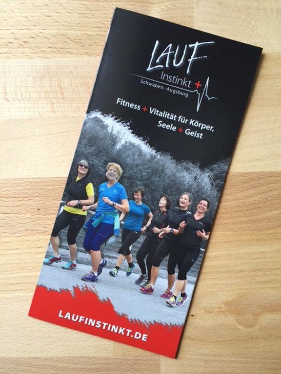 DER NEUE PROSPEKT VON #LAUFINSTINKT SCHWABEN AUGSBURG #Information   #Angebot   #Kurse   #Seminare