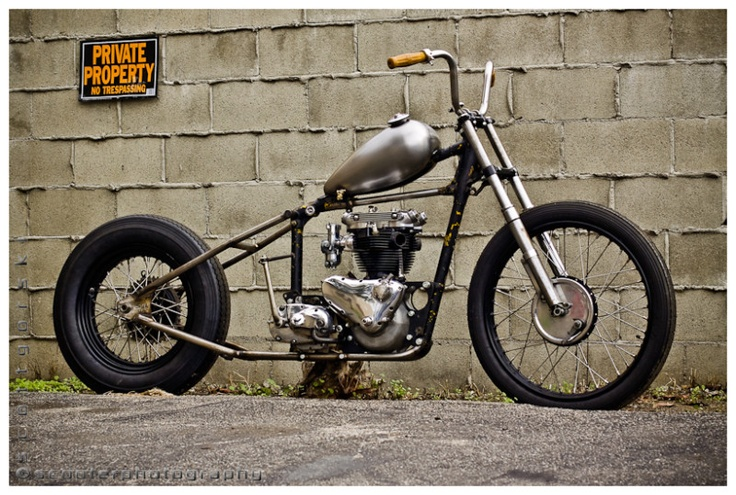 Build Your Own Bobber Motorcycle Online
