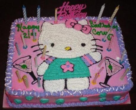 Hello Kitty Cake!!!