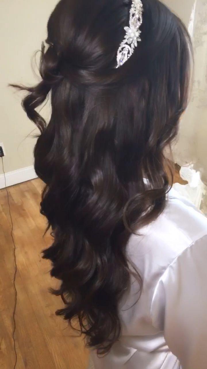 Bridal Waves in 12  Mexikanische frisuren, Frisur hochzeit