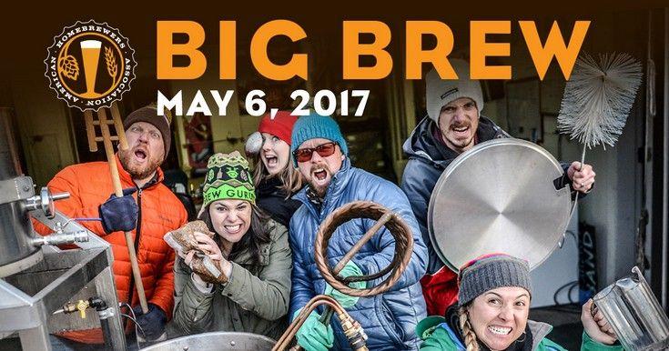 American Homebrewers Association's AHA Big Brew returns Saturday, May 6th