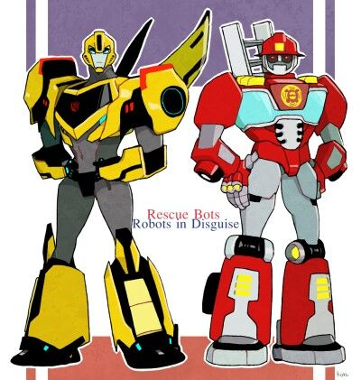 TF Rid2015 and Rescue bots i flip when he said heatwave battle cry