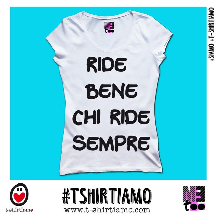 [Tee T-shirt]  RIDE BENE by MeToo® http://www.t-shirtiamo.com #tshirt #losangeles  #london #season #black #white #fashion #fun #weekend #family #designer #italy #facebook #instagram #fallwinter #tshirtiamo #metoo #natale #christmas  #rimini #italy #italian #love #christmastee #peace #pinterest #xmas #happiness #smile