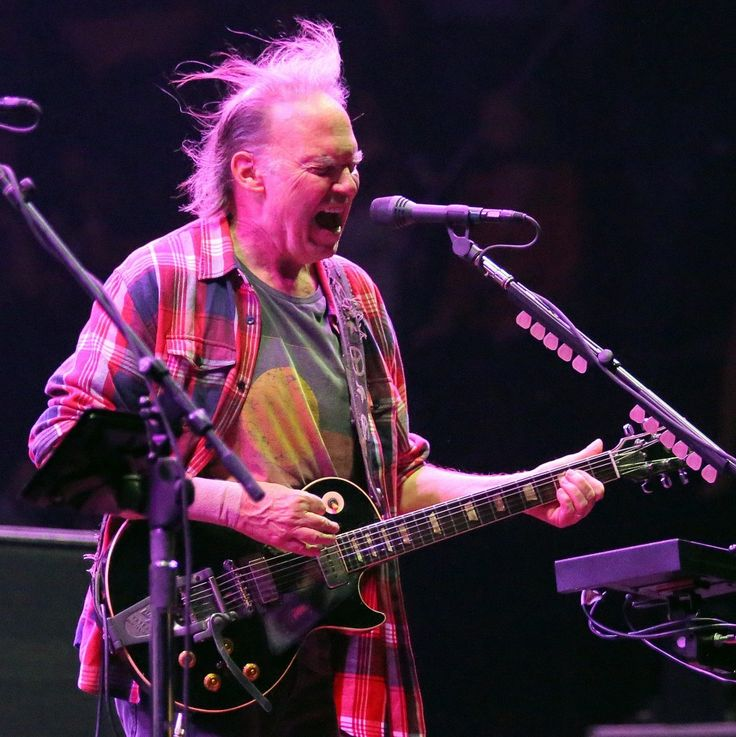 Neil Young and Crazy Horse close out the first day of Voodoo Fest Friday on the Le Ritual Stage at City Park in New Orleans, October 26, 2012 .