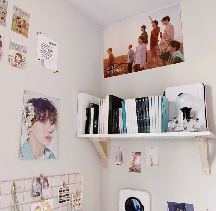 Pin by LUCID DREAMING on » bts merch in 2019 | Army room ... on Room Decor Bts id=14317