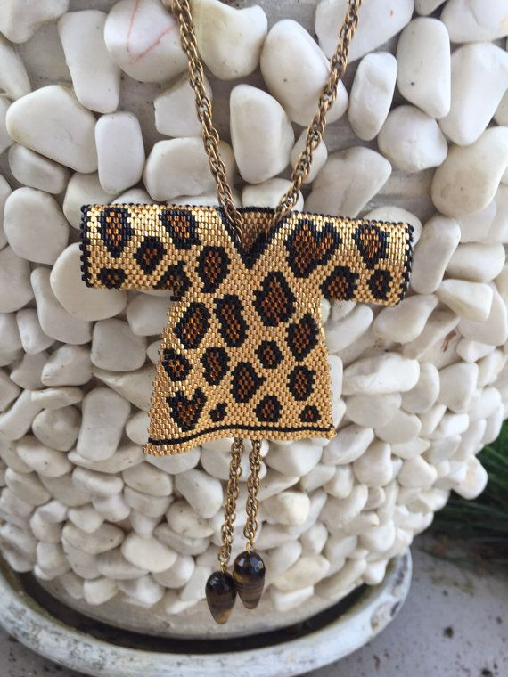 Leopardo caftán Kaftan moldeado collar caftán por SinezarHandmade