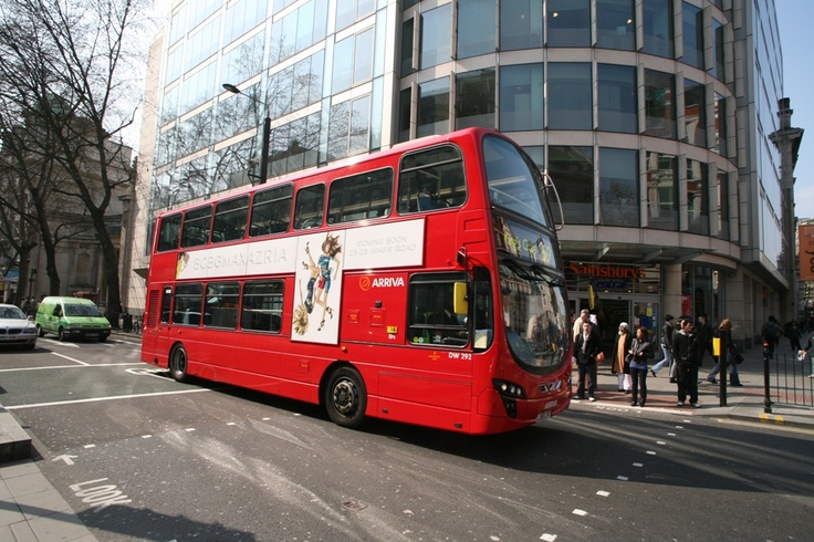 London Bus Advertising for BCBGMAXAZRIA #fashion Bcbg.com
