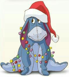 Christmas eeyore