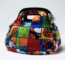 Romero Britto Disney Mickey Mouse Lunch Bag