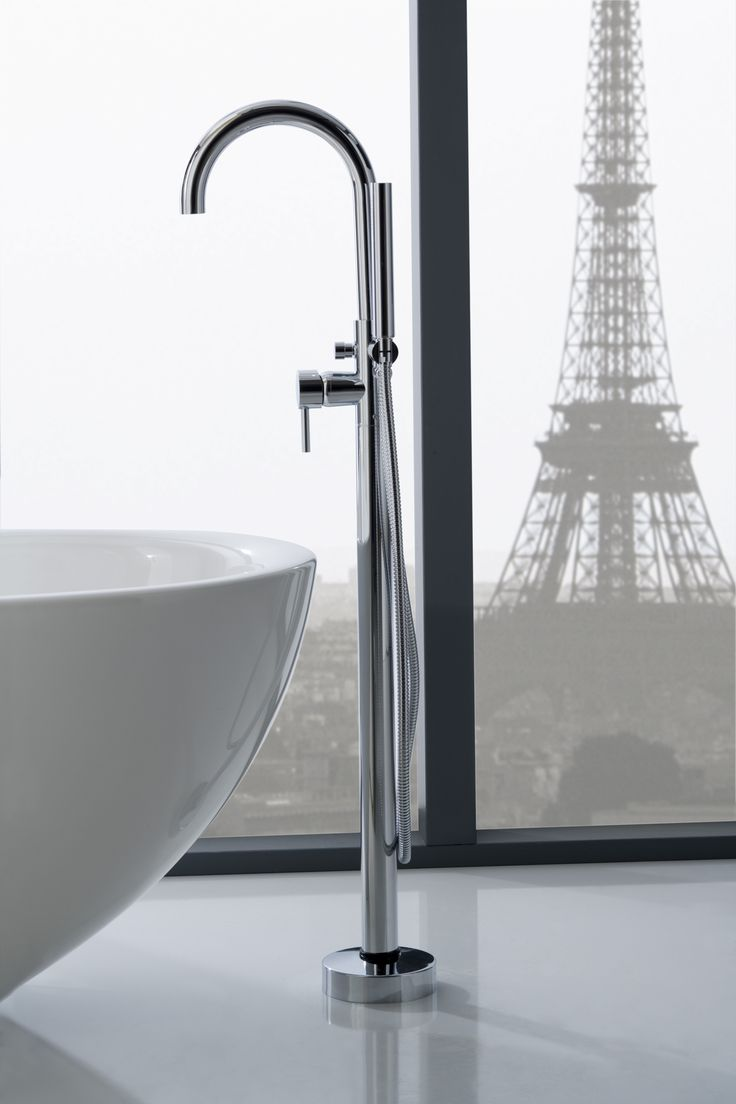 Floor Mounted Faucets And Tub Fillers By Graff : Floor Mount Tub Filler  Graff