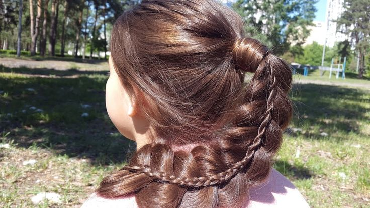 Коса на косе или Двойная коса. // Braid on braid. Double braid. https://www.youtube.com/watch?v=53ZtEuZwSHA