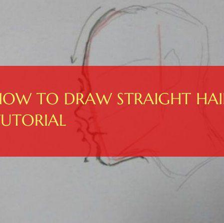 Wie zeichnet man glattes Haar Tutorial glattes Haar Wie zeichnet man glattes Haar Tutorial