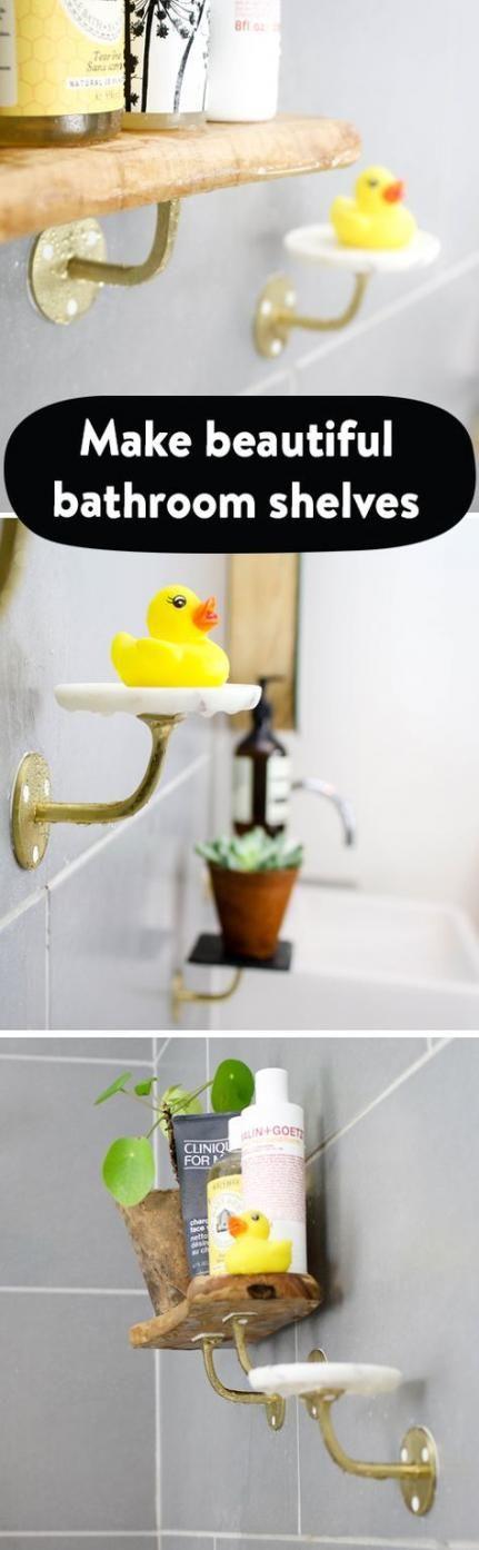 Diy Bathroom Shelves Tips 30 Ideas   – travel | diy.