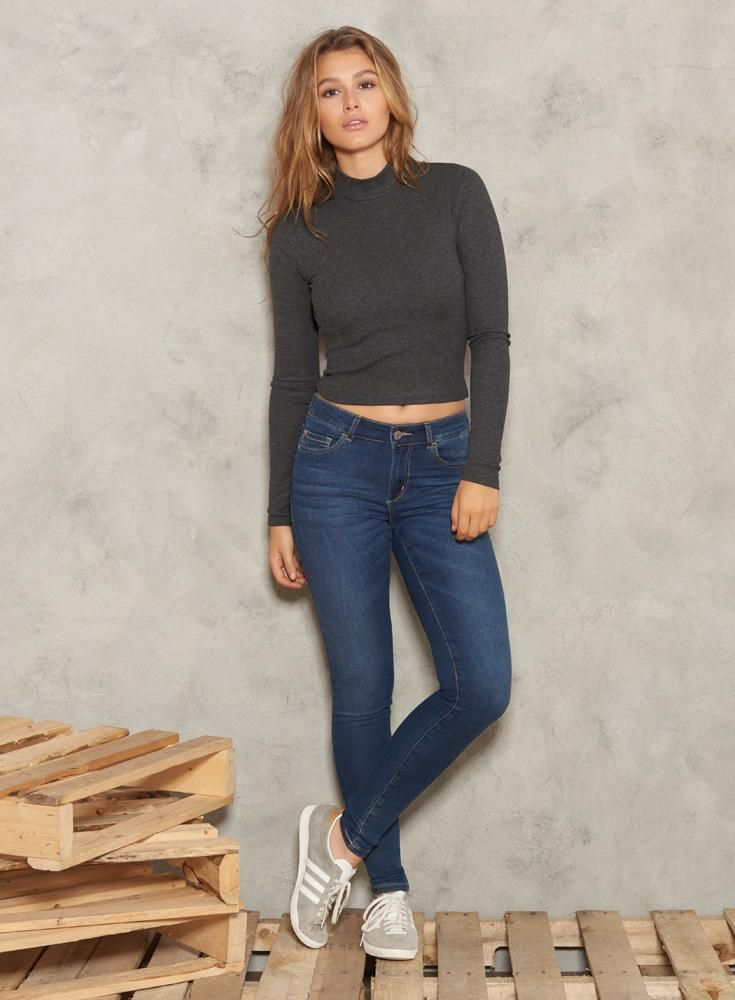 Into the Night Knit High Waist Jegging.