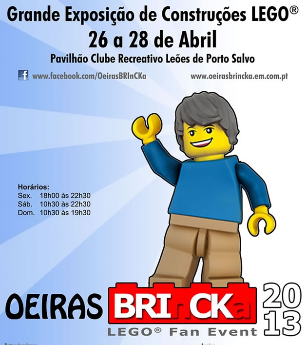 Oeiras BRInCKa 2013 - Lisboa   Guia da Cidade   Região de Lisboa  http://www.guiadacidade.pt/pt/art/oeiras-brincka-2013-278965-11