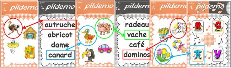 """CP : le""""Pildemo"""" jeu de lecture de mots"""