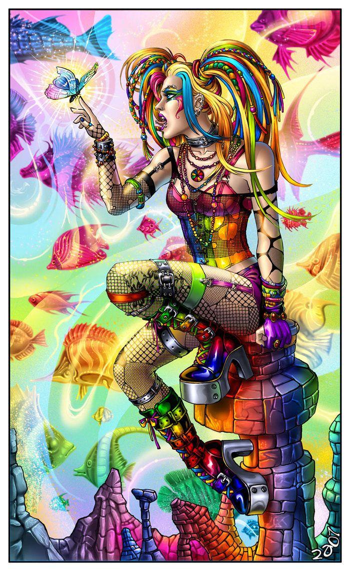 Delirium/Delight from the Sandman series | del | Pinterest