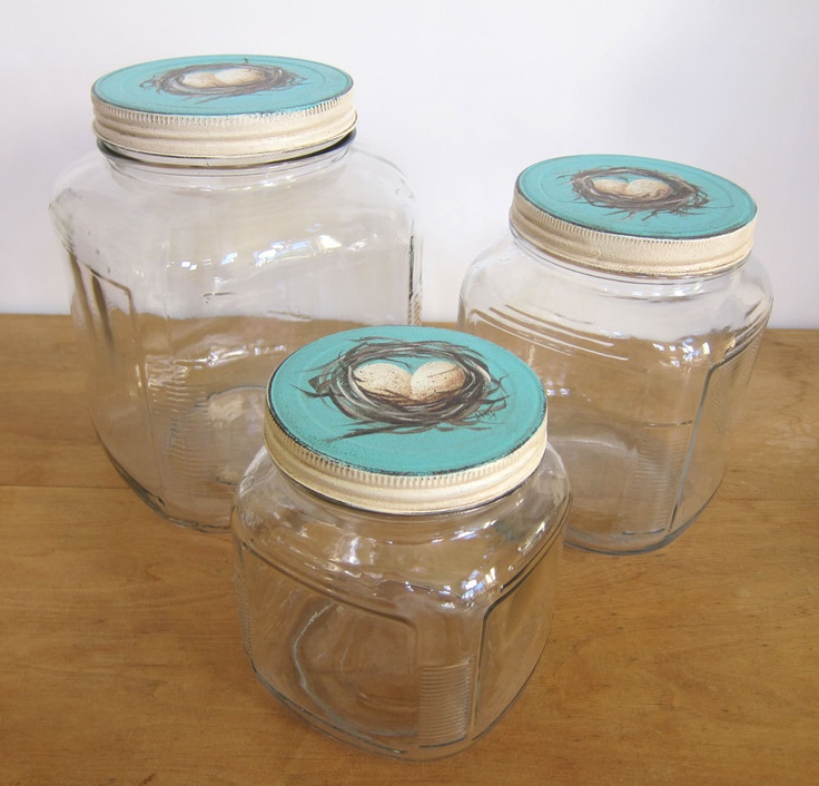 150 best images about kitchen cannisters glass storage. Black Bedroom Furniture Sets. Home Design Ideas