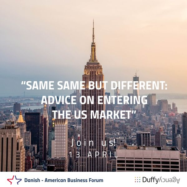 Join us for a breakfast seminar with Danish - American Business Forum and learn how to improve your #digital marketing and conquer the complex US market. Get inspired by smart, cost-efficient, no-nonsense approaches using digital. We will be there on 13th April, will you? http://dabf.dk/events/digital-marketing-for-success-in-us/ #BusinessMeeting #Networking