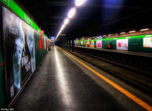 HDR - Metro Porta Genova - Milano