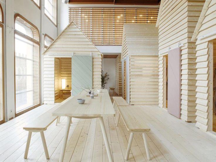 パリでフィンランドを堪能? 建物内のコテージに泊まるゲストハウス | ROOMIE(ルーミー)