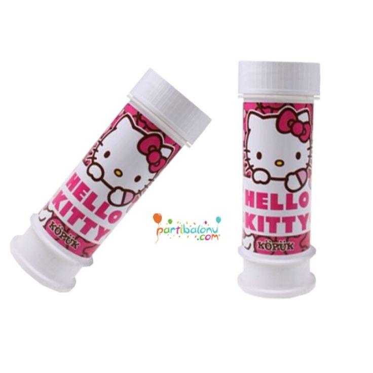 Hello Kitty Köpük Balon Hello Kitty Köpük Baloncuk Ürün Özellikleri  Ürün Paketinde 2 Adet Hello Kitty Baskılı Köpük Balon bulunur. Köpük balonlar kaliteli ve lisanslıdır. Boyutları 10 cm'dir. Hello Kitty Baskılı köpük baloncuk ile çocuklarınız eğlenceli vakit geçirecek