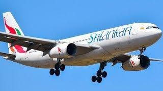 SriLankan Airlines A330-200 w/ RR TRENT 700's Landing at Melbourne
