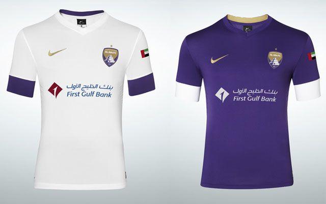 Nike Al Ain FC 2014 Home & Away Kit