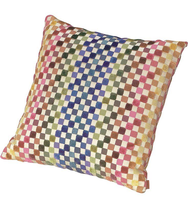 MISSONI HOME Maseko check cushion 40x40