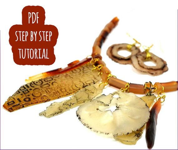 Faux Old Skin Polymer clay tutorial