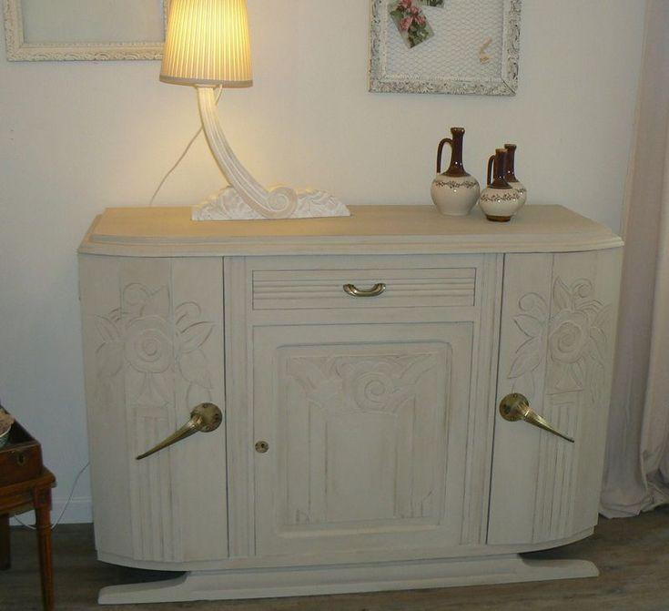 et encore un buffet ann es 30 le blog de l 39 atelier de nath vieux meubles relookes. Black Bedroom Furniture Sets. Home Design Ideas