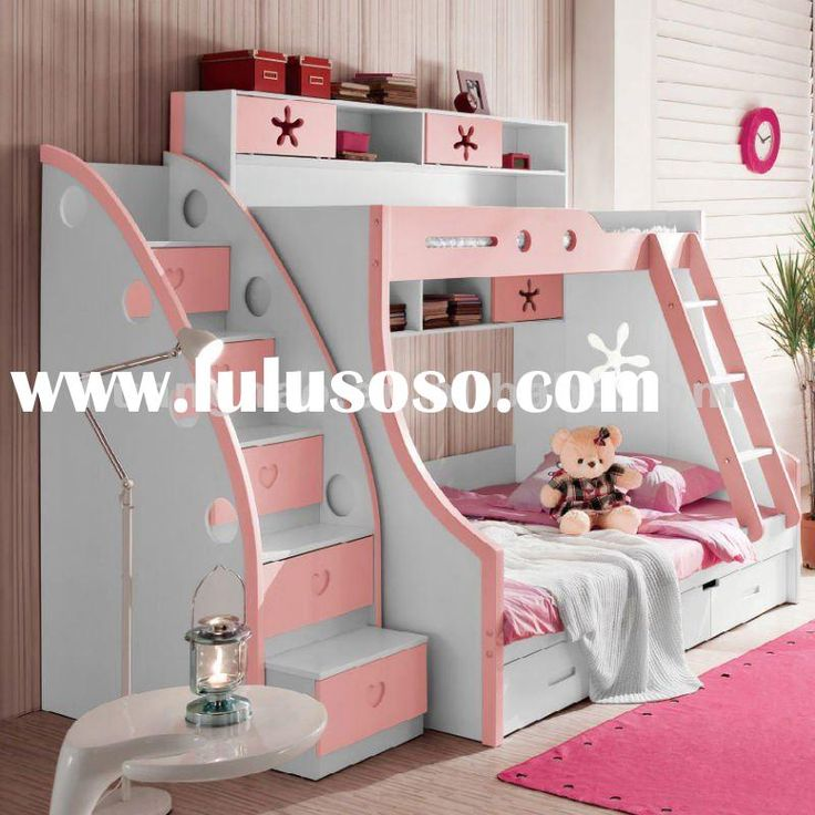77 best images about girl bedroom ideas on pinterest girl loft beds unique bunk beds and ikea - Unique girls bunk beds ...