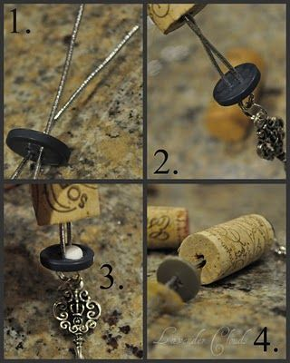 Something to do with all the wine corks. (I dont have wine corks, but I can find some)