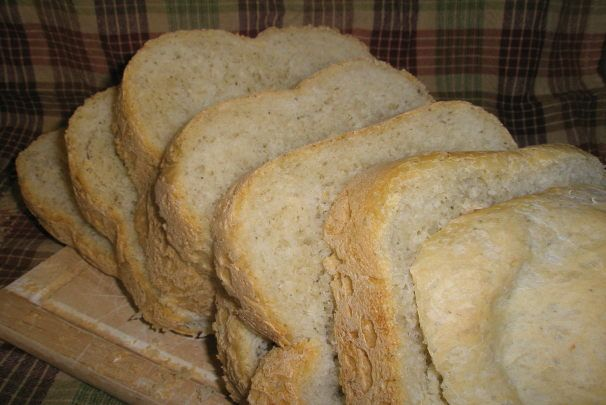Italian Parmesan Bread for Bread Machine. Photo by Color Guard Mom: