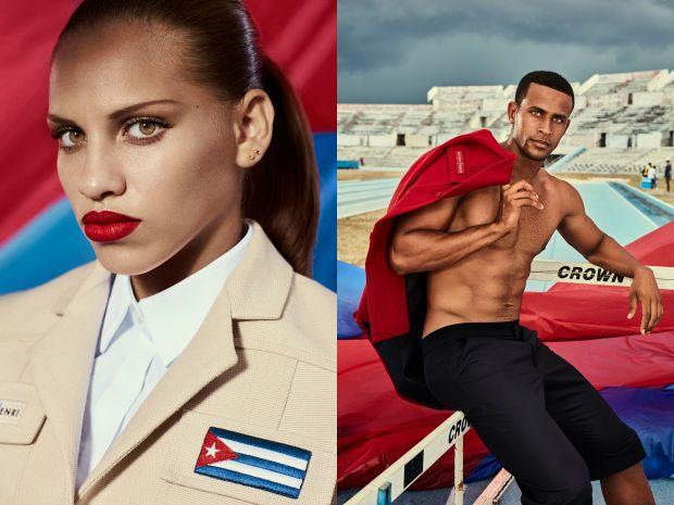Gymnast #cuba #louboutin #designers