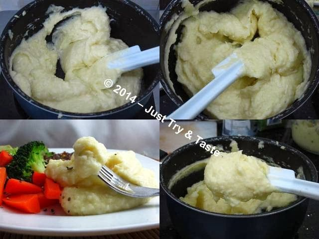Creamy Mashed Potato: Yuk membuat kentang tumbuk laziz a la restoran! | Just Try & Taste