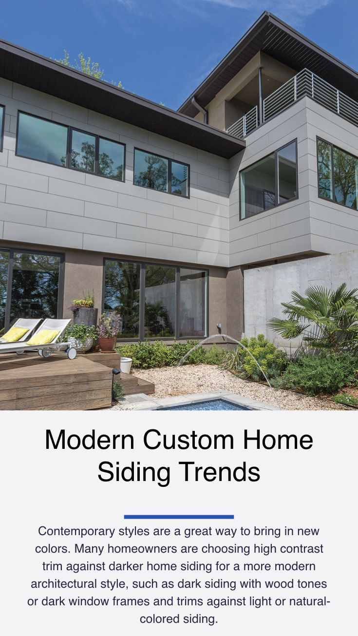 Home Siding Trends Are Moving Away From The Standard Narrow