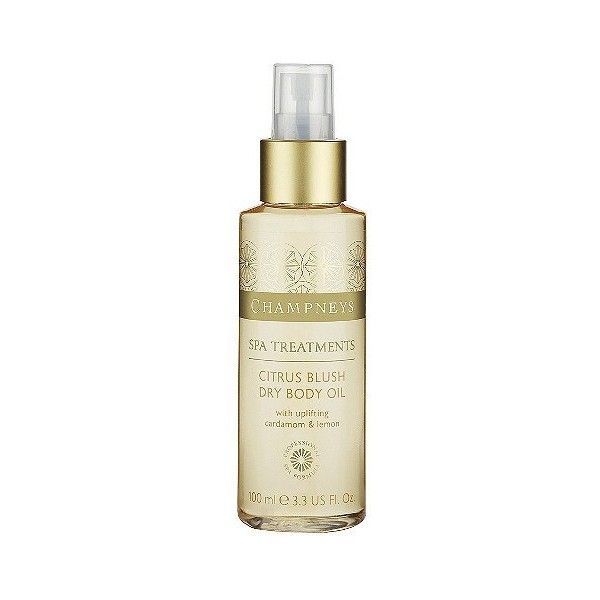 Champneys Citrus Blush Dry Body Oil ($7.99) ❤ liked on Polyvore featuring beauty products, bath & body products, body moisturizers, bath and body skincare, bath oil, beauty and fragrance, health and beauty and body moisturizer