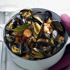 Recept - Mosselen met chorizo - Allerhande