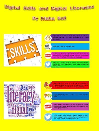 Digital Skills and Digital Literacies by Maha Bali
