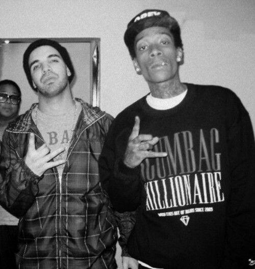 Wiz Khalifa and Drake
