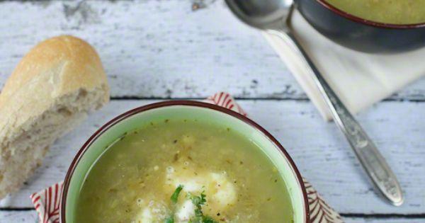 Roasted Tomatillo Chicken Soup via Kitchen Confidante